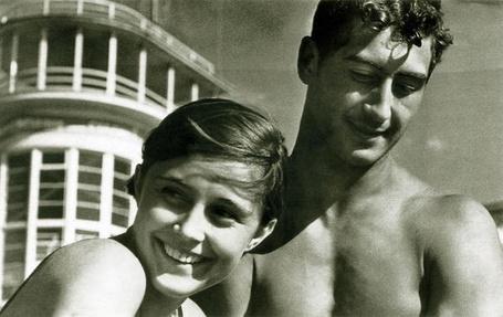 Фото Бориса Игнатовича. Молодость. 1937г.