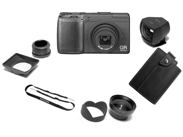 Ricoh GR DIGITAL II Creative Set