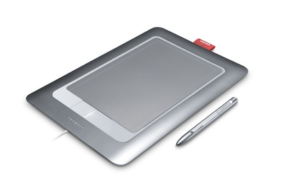 Практика коллажа с Wacom Bamboo Fun Medium