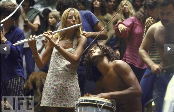 Вудсток — один из знаменитейших рок-фестивалей