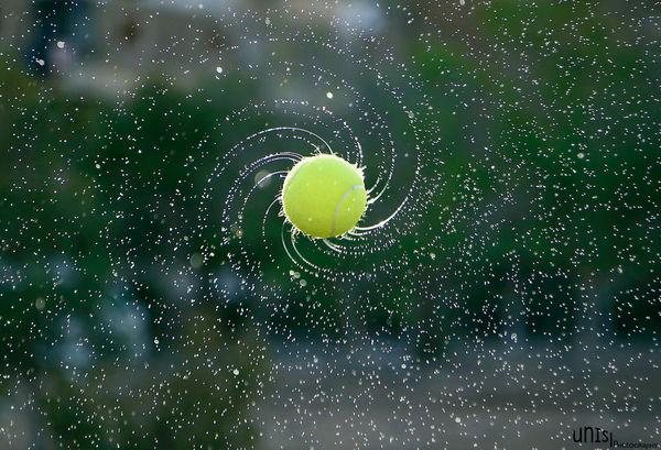 Tennis ball © Younis Mohammed