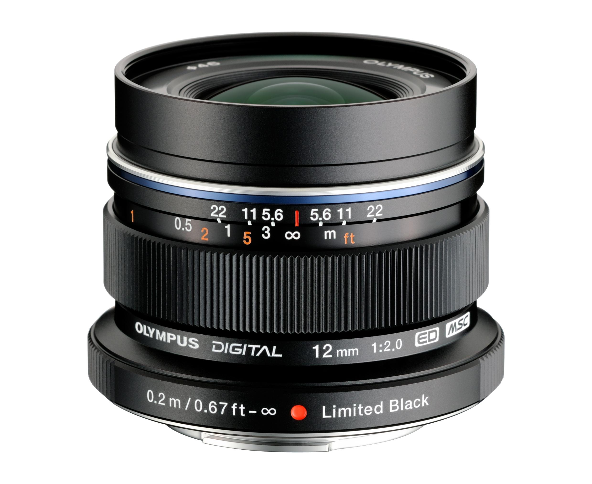 Объектив Olympus M.Zuiko Digital ED 12 mm f/2.0 for PEN Black*
