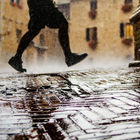 Running in Rain © Jordan Rathkopf