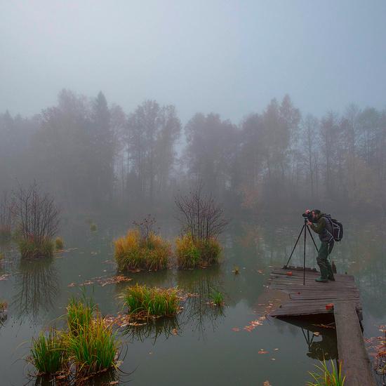 Чтобы сфотографировать красивый пейзаж, требуется много усилий. Нужно не только уметь фотографировать, но и, собственно, добраться до самого места съемки.