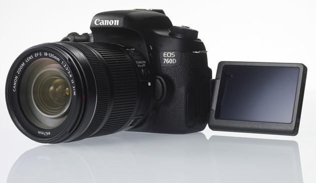 Canon EOS 760D и EOS 750D – зеркальные камеры старшего любительского уровня
