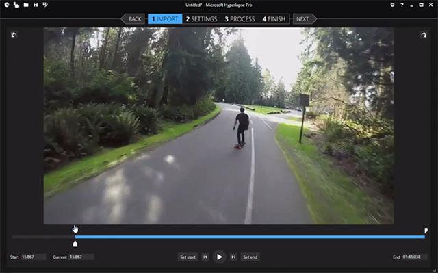 Microsoft Hyperlapse создает стабилизированные гиперлапс ролики из обычного