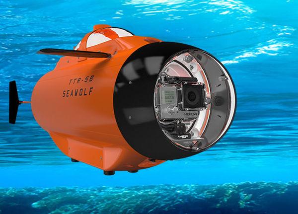 как снимают подводные лодки под водой