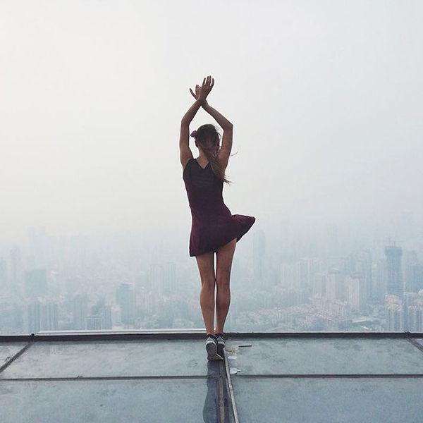Жутко красиво: завораживающие фото с самых высоких крыш мира