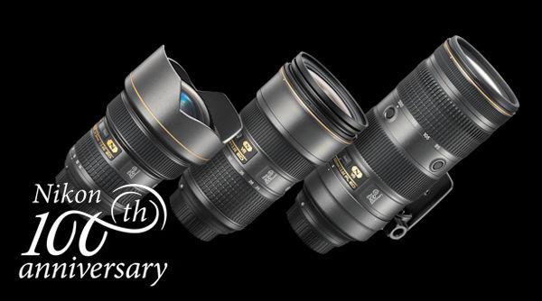 Nikon объявляет о выпуске моделей, посвященных столетнему юбилею