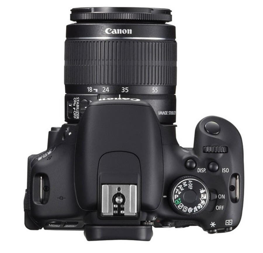 Сравнение Canon EOS 100D и EOS 600D