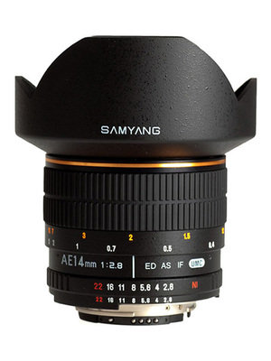 Samyang 14mm f/2.8 ED AS IF UMC AE Nikon F
