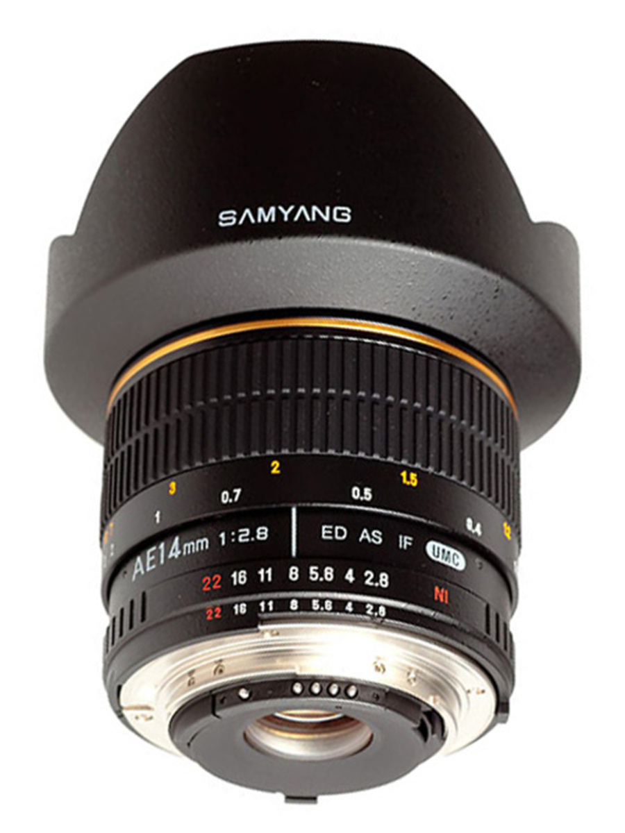 Samyang 14mm f 2 8 ed as if umc ae nikon f for Samyang 14mm nikon