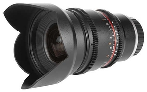 Samyang 16mm T2.2 ED AS UMC CS VDSLR Canon EF