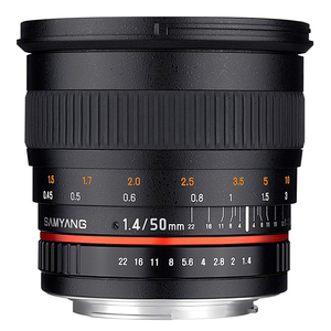 Samyang 50mm f/1.4 AS UMC Sony A
