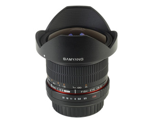 Samyang 8mm f/3.5 AS IF MC Fish-eye CS AE Nikon F