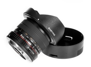 Объектив Samyang 8mm T3.8 AS IF UMC Fish-eye CS II VDSLR Canon EF