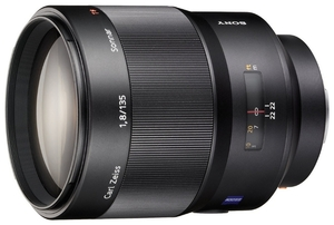 Sony Carl Zeiss Sonnar T*135mm f/1.8 ZA