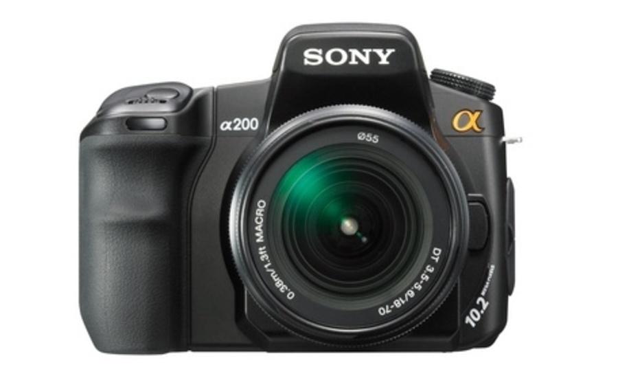 Зеркальной фотокамеры sony 200 инструкция