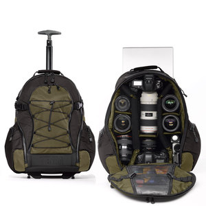 Tenba Shootout Medium Rolling Backpack