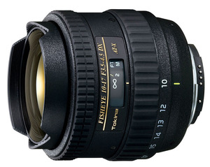 Tokina AT-X 10-17mm F3.5-4.5 DX Fisheye Canon EF-S