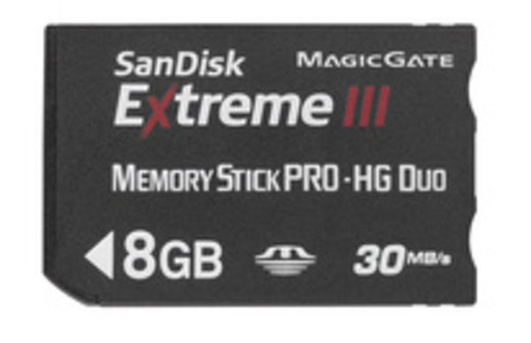 SanDisk Extreme III Memory Stick Pro-HG Duo