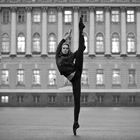 Russian Ballerina Hits The Sky © Little Shao