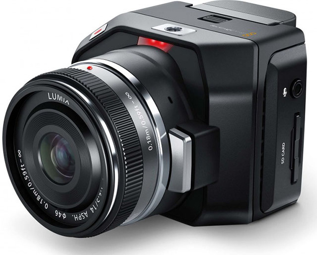 Камера Blackmagic Micro Cinema Camera может снимать RAW видео 1080p с дрона
