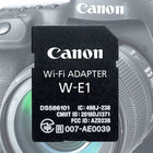 Canon W-E1 – адаптер Wi-Fi в формате SD-карты