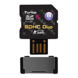 Носитель информации A-Data Turbo SDHC Duo