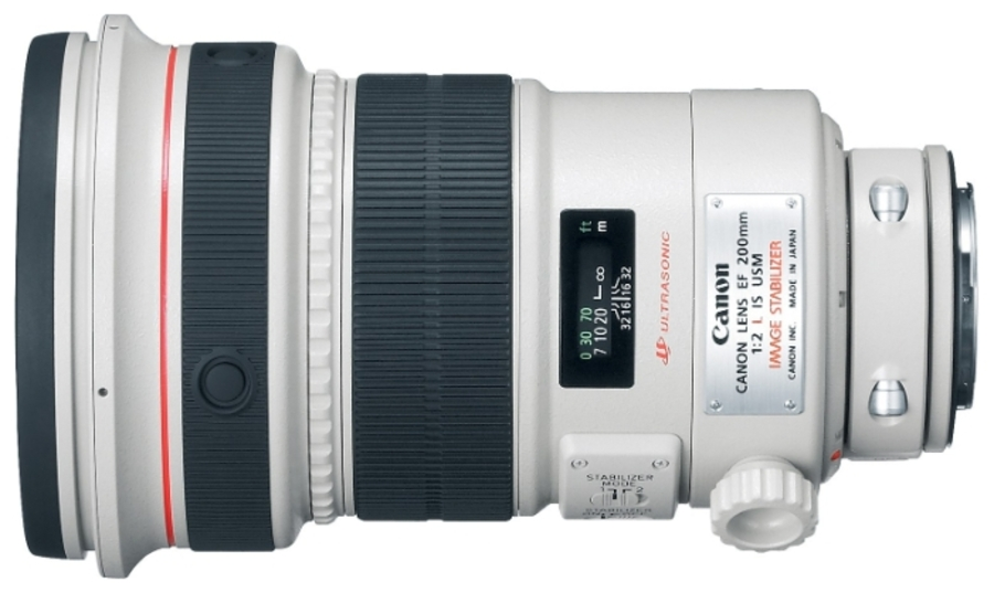 Объектив Canon EF 200 f/2L IS USM