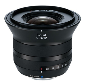 Zeiss Touit 2.8/12 X-mount