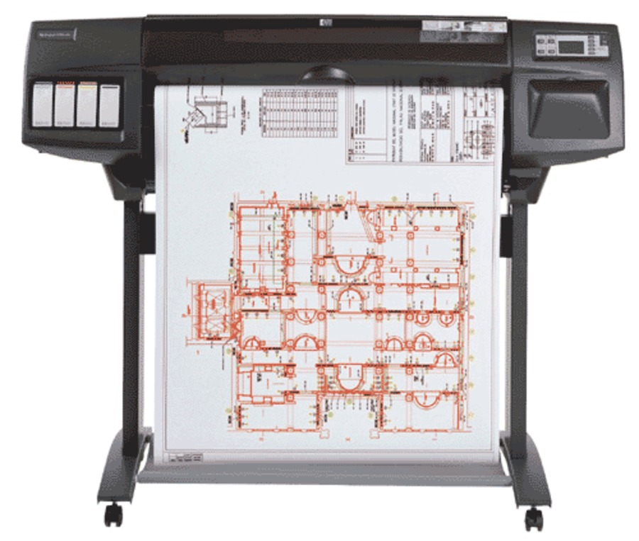 Принтер HP DesignJet 1050c plus