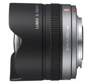 Объектив Panasonic Lumix G Fisheye 8mm F3.5