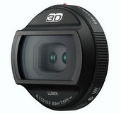 Объектив Panasonic Lumix G 12.5mm 3D