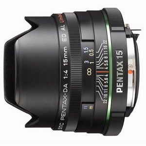 Pentax DA 15mm f/4 ED AL Limited
