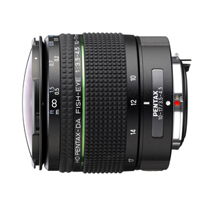 Pentax HD DA 10-17mm f/3.5-4.5 ED Fish Eye