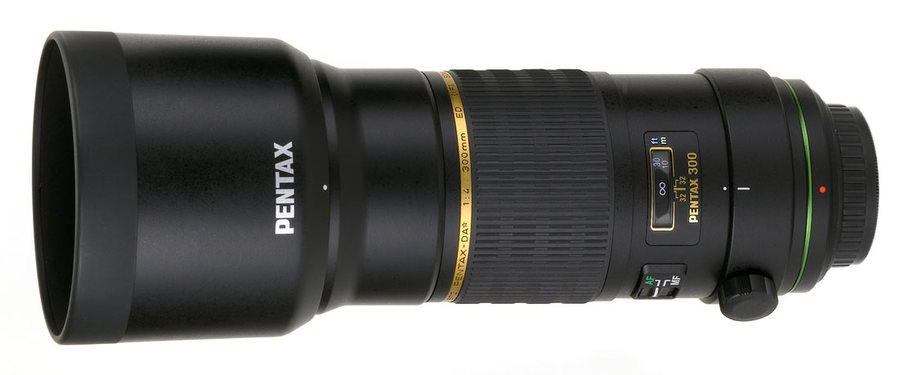 Объектив Pentax smc DA* 300mm f/4ED [IF] SDM