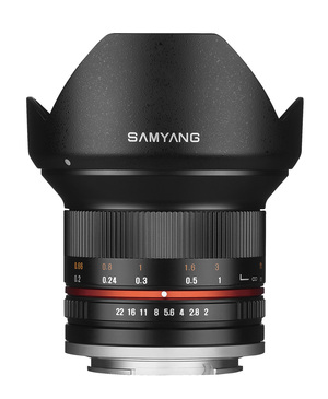 Объектив Samyang 12mm f/2.0 ED AS NCS CS Sony-E