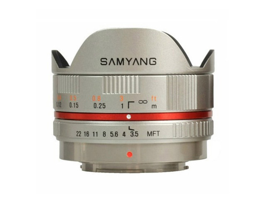 Объектив Samyang 7.5mm f/3.5 UMC Fish-eye Panasonic/Olympus Micro 4/3