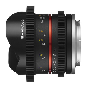 Объектив Samyang 8mm T3.1 ED AS IF UMC Fish-eye CS II VDSLR Fujifilm X
