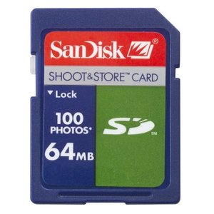 Носитель информации SanDisk Shoot & Store SD