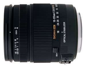 Sigma 18-125mm f/3.8-5.6 DC OS HSM Canon EF-S