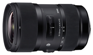 Sigma 18-35mm F1.8 DC HSM Canon EF-S