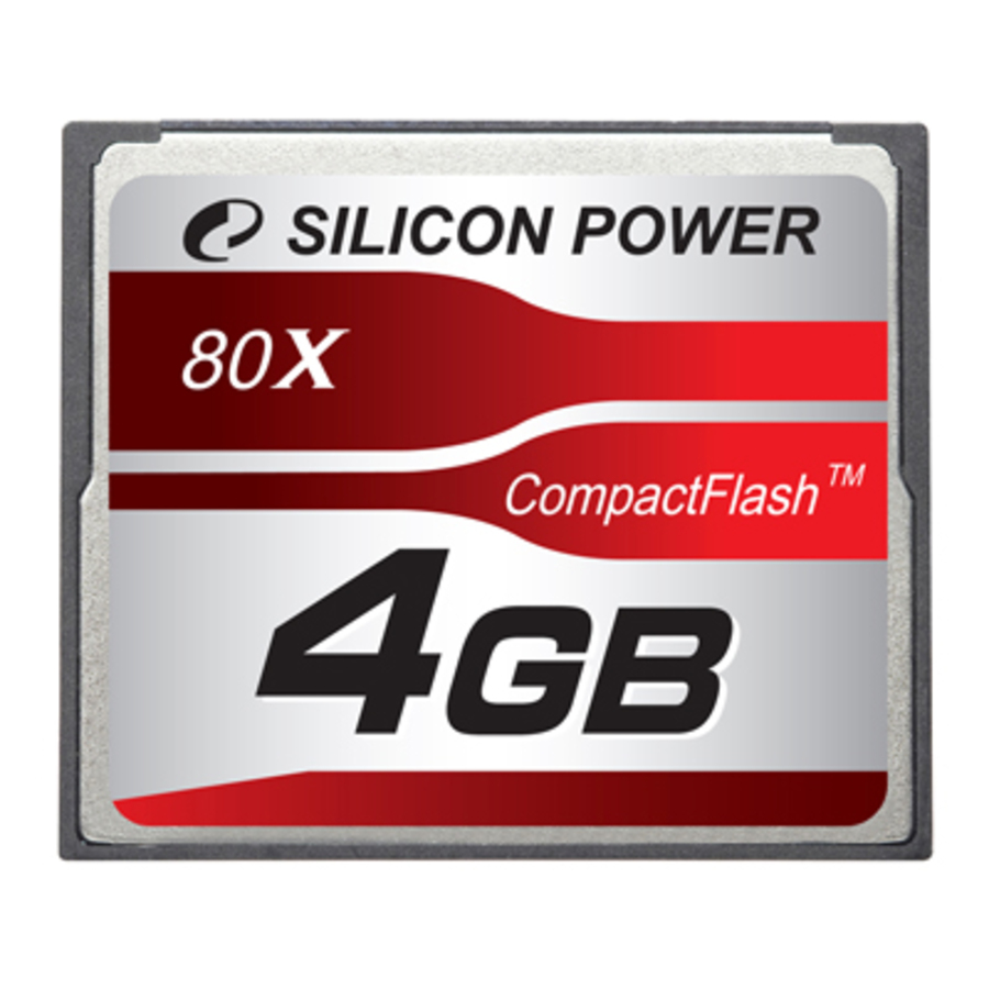Носитель информации Silicon Power CF 80x